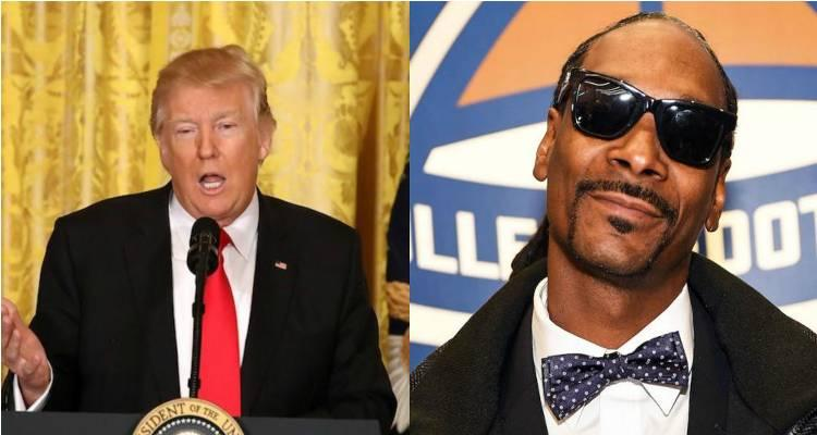 Trump Slams Snoop for Video, Calls for Rapper to Serve 'Jail Time'
